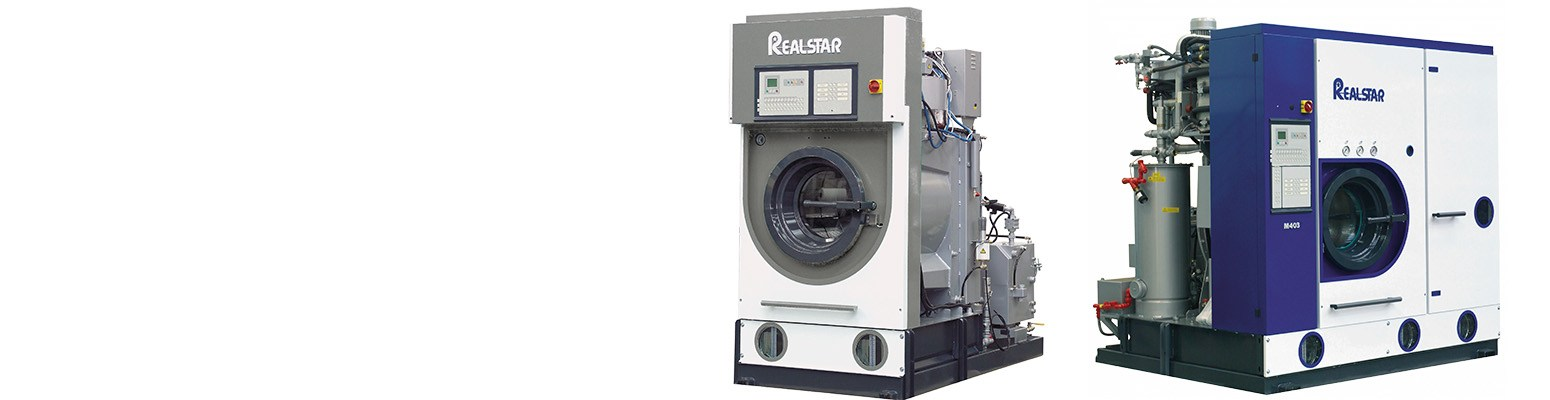 Realstar Drycleaning Machines